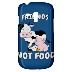 Friends Not Food   Cute Cow, Pig And Chicken Galaxy S3 Mini by Valentinaart
