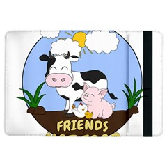Friends Not Food   Cute Cow, Pig And Chicken Ipad Air Flip