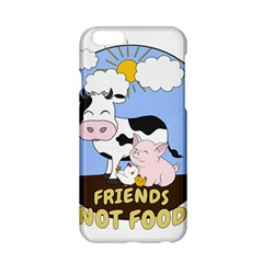 Friends Not Food   Cute Cow, Pig And Chicken Apple Iphone 6/6s Hardshell Case by Valentinaart