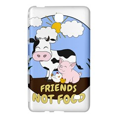 Friends Not Food   Cute Cow, Pig And Chicken Samsung Galaxy Tab 4 (7 ) Hardshell Case  by Valentinaart