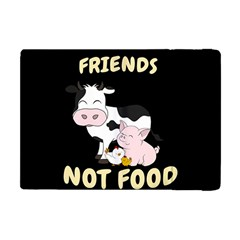 Friends Not Food   Cute Cow, Pig And Chicken Apple Ipad Mini Flip Case by Valentinaart