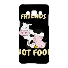 Friends Not Food   Cute Cow, Pig And Chicken Samsung Galaxy A5 Hardshell Case  by Valentinaart