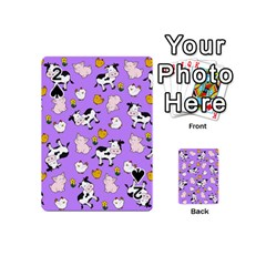 The Farm Pattern Playing Cards 54 (mini)  by Valentinaart