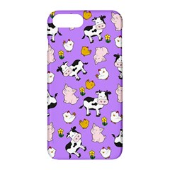 The Farm Pattern Apple Iphone 7 Plus Hardshell Case by Valentinaart