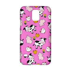 The Farm Pattern Samsung Galaxy S5 Hardshell Case  by Valentinaart