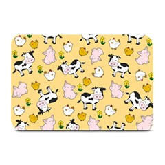 The Farm Pattern Plate Mats by Valentinaart