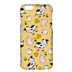 The Farm Pattern Apple Iphone 6 Plus/6s Plus Hardshell Case by Valentinaart