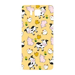 The Farm Pattern Samsung Galaxy Alpha Hardshell Back Case by Valentinaart