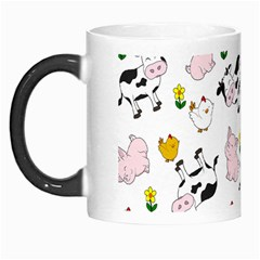 The Farm Pattern Morph Mugs by Valentinaart