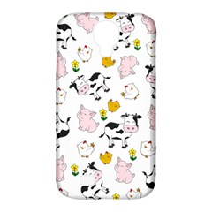 The Farm Pattern Samsung Galaxy S4 Classic Hardshell Case (pc+silicone) by Valentinaart