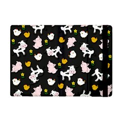 The Farm Pattern Apple Ipad Mini Flip Case by Valentinaart