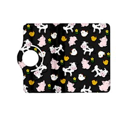 The Farm Pattern Kindle Fire Hd (2013) Flip 360 Case by Valentinaart