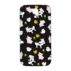 The Farm Pattern Samsung Galaxy S4 I9500/i9505  Hardshell Back Case by Valentinaart