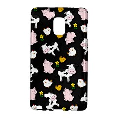 The Farm Pattern Galaxy Note Edge by Valentinaart