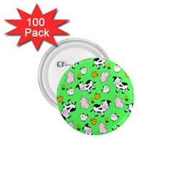The Farm Pattern 1 75  Buttons (100 Pack)  by Valentinaart