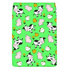 The Farm Pattern Flap Covers (l)  by Valentinaart