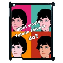 Valerie Solanas Apple Ipad 2 Case (black) by Valentinaart
