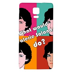Valerie Solanas Galaxy Note 4 Back Case by Valentinaart