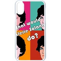 Valerie Solanas Apple Iphone X Seamless Case (white) by Valentinaart