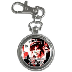 Valerie Solanas Key Chain Watches by Valentinaart