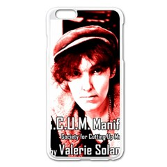 Valerie Solanas Apple Iphone 6 Plus/6s Plus Enamel White Case by Valentinaart