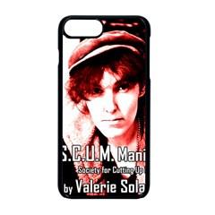 Valerie Solanas Apple Iphone 8 Plus Seamless Case (black) by Valentinaart