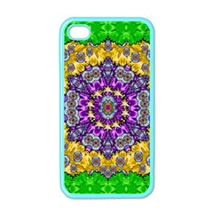 Sunshine In Mind The Season Is Decorative Fine Apple Iphone 4 Case (color) by pepitasart