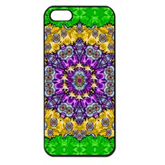 Sunshine In Mind The Season Is Decorative Fine Apple Iphone 5 Seamless Case (black) by pepitasart
