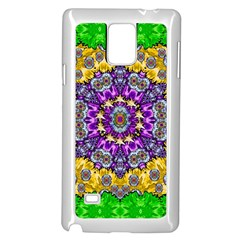 Sunshine In Mind The Season Is Decorative Fine Samsung Galaxy Note 4 Case (white) by pepitasart