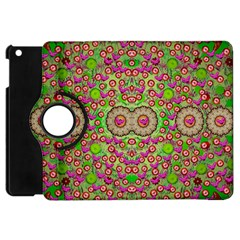 Love The Wood Garden Of Apples Apple Ipad Mini Flip 360 Case by pepitasart