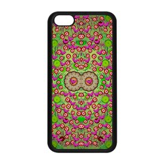 Love The Wood Garden Of Apples Apple Iphone 5c Seamless Case (black) by pepitasart
