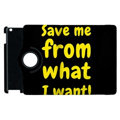 Save Me From What I Want Apple Ipad 3/4 Flip 360 Case by Valentinaart