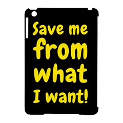 Save Me From What I Want Apple Ipad Mini Hardshell Case (compatible With Smart Cover) by Valentinaart