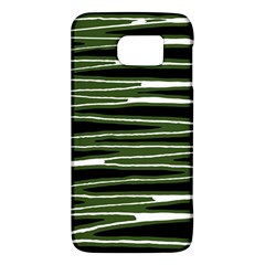 Sketched Wavy Stripes Pattern Galaxy S6 by dflcprints