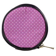 Pink Polka Dots Mini Makeup Bags by jumpercat