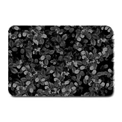 Dark Leaves Plate Mats by jumpercat