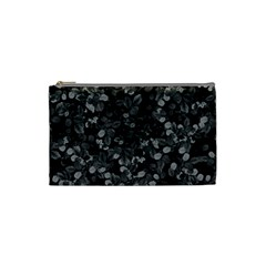 Dark Leaves Cosmetic Bag (small)  by jumpercat