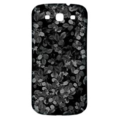 Dark Leaves Samsung Galaxy S3 S Iii Classic Hardshell Back Case by jumpercat