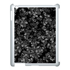 Dark Leaves Apple Ipad 3/4 Case (white) by jumpercat