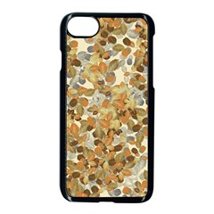 Leaves Autumm Apple Iphone 7 Seamless Case (black) by jumpercat