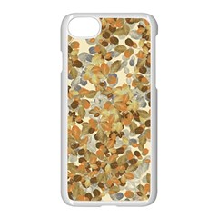 Leaves Autumm Apple Iphone 7 Seamless Case (white) by jumpercat
