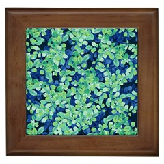 Moonlight On The Leaves Framed Tiles by jumpercat
