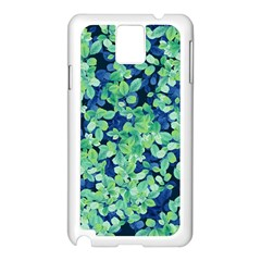 Moonlight On The Leaves Samsung Galaxy Note 3 N9005 Case (white) by jumpercat