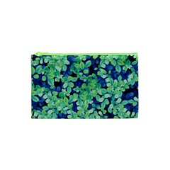 Moonlight On The Leaves Cosmetic Bag (xs) by jumpercat