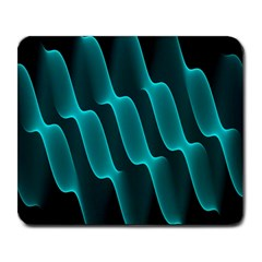 Background Light Glow Blue Green Large Mousepads
