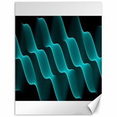 Background Light Glow Blue Green Canvas 12  X 16