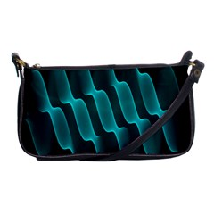 Background Light Glow Blue Green Shoulder Clutch Bags