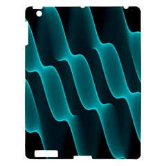 Background Light Glow Blue Green Apple Ipad 3/4 Hardshell Case