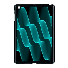 Background Light Glow Blue Green Apple Ipad Mini Case (black)