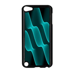 Background Light Glow Blue Green Apple Ipod Touch 5 Case (black)